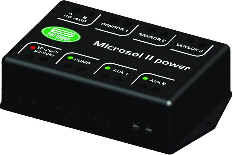 MICROSOL II power - CONTROL DE CALENTAMIENTO SOLAR
