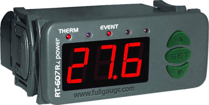 RT-607R i power - CONTROL DE TEMPERATURA