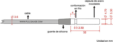 Sensor RollerBag - Sensor de Temperatura